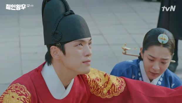 Được Kim Jung Hyun đè ngửa hôn truyền trà, Shin Hye Sun lại vội móc họng đòi nôn ở Mr. Queen tập 4 - Ảnh 6.