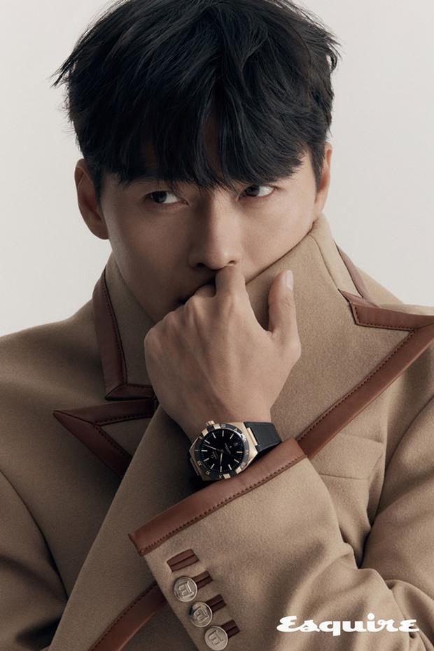 Cuối cùng bộ ảnh tạp chí của Hyun Bin đã được hé lộ: Đúng là quốc bảo nhan sắc, bảo sao Song Hye Kyo - Kang Sora từng u mê - Ảnh 6.