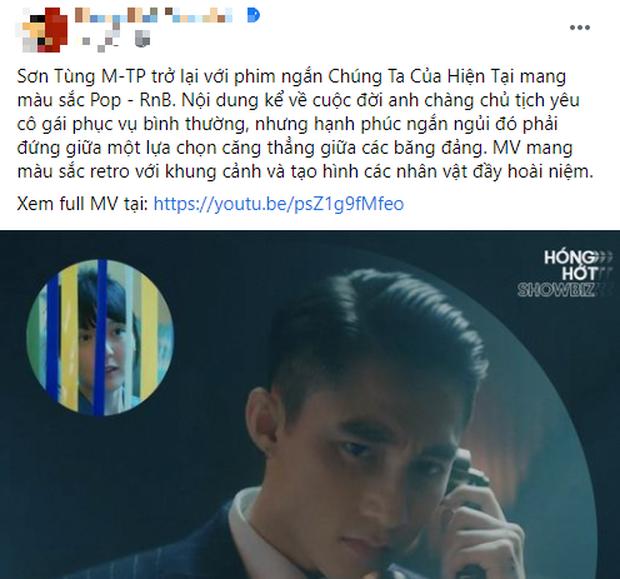 Dân mạng chia năm xẻ bảy về MV mới của Sơn Tùng: Được dịp nghe nhạc của Sếp không phải bật sub thì lại chả hiểu nội dung - Ảnh 2.