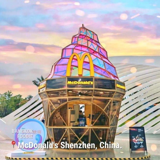 """Không tin vào mắt mình trước loạt nhà hàng McDonald's đẹp nhất hành tinh: Chỗ cuối cùng ai nhìn vào cũng """"cười ra nước mắt"""" - Ảnh 3."""