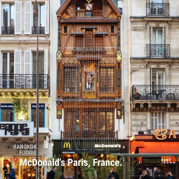 """Không tin vào mắt mình trước loạt nhà hàng McDonald's đẹp nhất hành tinh: Chỗ cuối cùng ai nhìn vào cũng """"cười ra nước mắt"""" - Ảnh 8."""