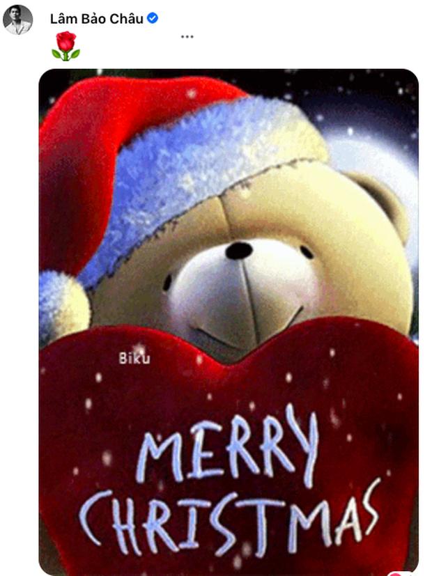 Lệ Quyên khoe được 1 người âm thầm chuẩn bị quà Giáng sinh, Lâm Bảo Châu liền có ngay động thái chứng minh tình cảm? - Ảnh 3.
