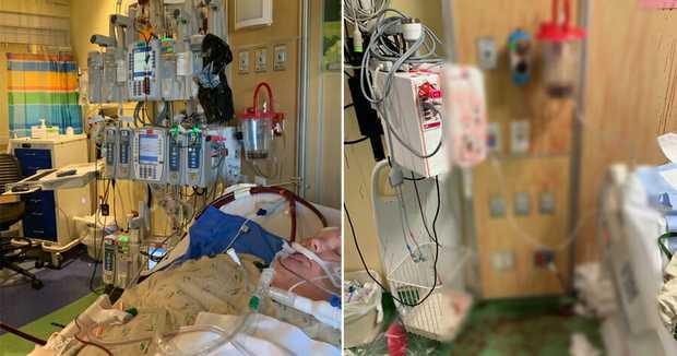 Bức hình ám ảnh: Bà mẹ đau đớn chia sẻ hình ảnh con trai ho ra máu, nhuộm đỏ tường trước khi lìa đời vì nhiễm Covid-19 - Ảnh 1.