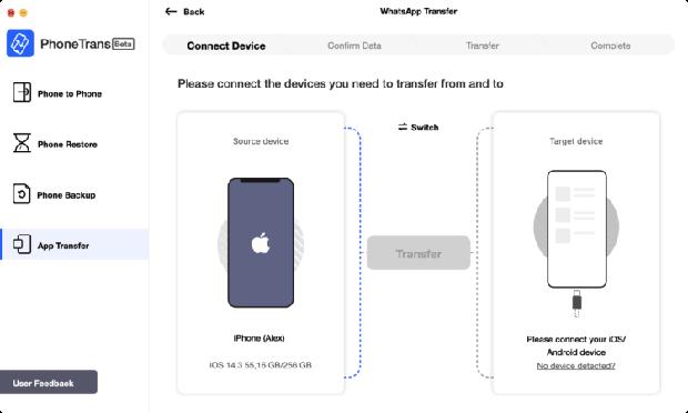 PhoneTrans là ứng dụng giúp chuyển dữ liệu từ iPhone cũ sang iPhone mới - Ảnh 5.