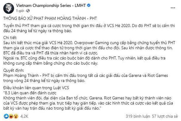 Nhìn lại năm 2020 đầy u ám của LMHT Việt Nam: Nợ lương, cờ bạc, cắm sừng đều đủ cả! - Ảnh 4.