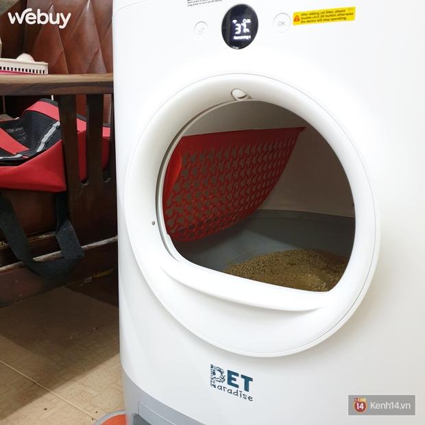 """""""Sen"""" nhà người ta đây rồi: Chi 15 triệu mua máy dọn vệ sinh tự động cho 5 """"boss"""" mèo - Ảnh 6."""
