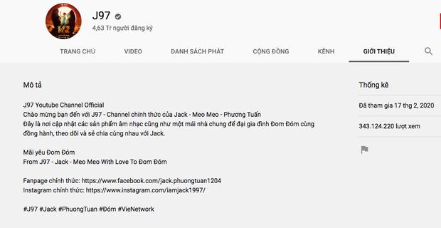 Sinh sau đẻ muộn 3 năm nhưng lượt subscribe của Jack đã chính thức vượt K-ICM chỉ sau 10 tháng! - Ảnh 1.