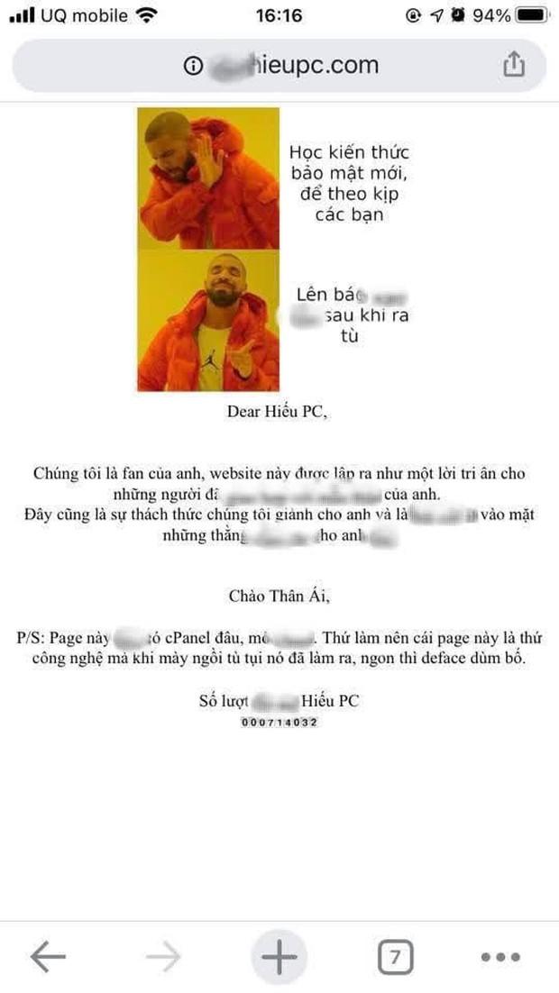 Nóng: Xuất hiện group và website anti Hieupc, cộng đồng mạng tranh cãi gay gắt! - Ảnh 3.