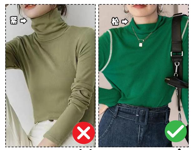 3 điều nên nhớ khi mặc áo len cao cổ để không lâm vào cảnh mặt to, cổ rụt - Ảnh 2.
