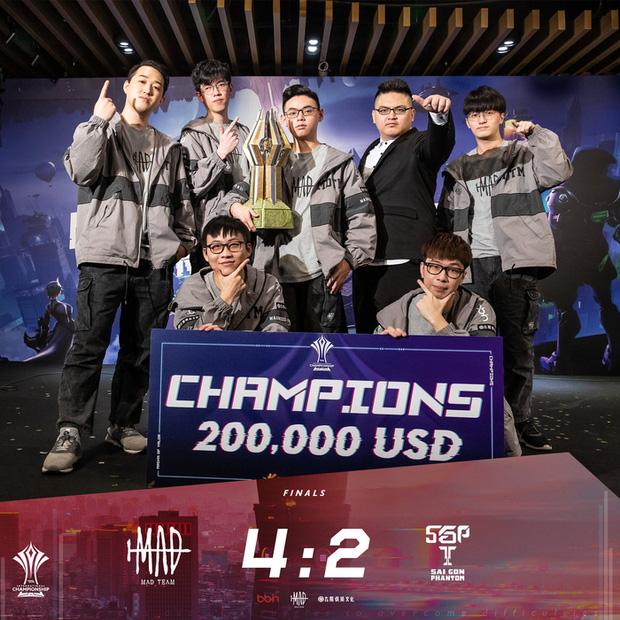 Ngôi sao MAD Team tuyên bố giải nghệ sau chức vô địch AIC 2020, AOG hết cơ hội phục thù - Ảnh 2.