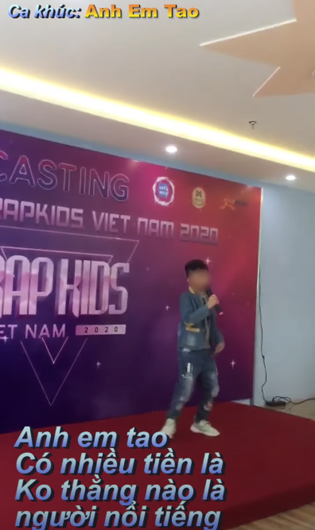 Admin trang Rap Kids tuyên bố thí sinh nhí chỉ mất 1 tuần sáng tác, vừa tập rap đã bằng rapper luyện 5 năm? - Ảnh 3.