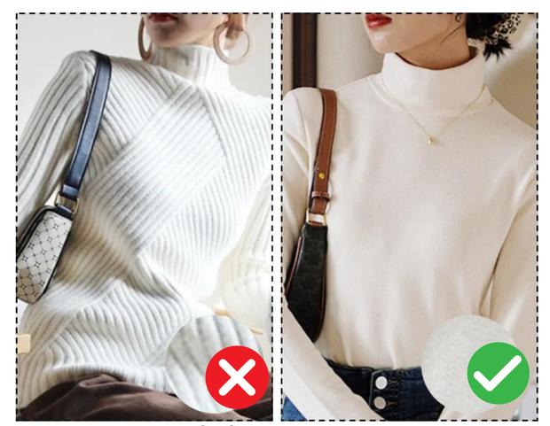 3 điều nên nhớ khi mặc áo len cao cổ để không lâm vào cảnh mặt to, cổ rụt - Ảnh 4.