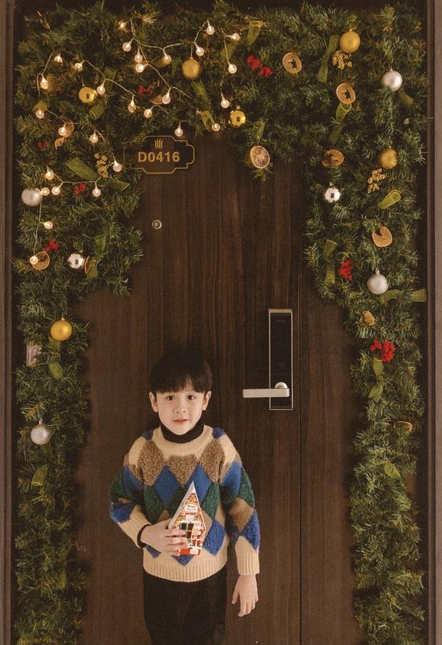 Mẹ đảm trang hoàng nhà Noel sang và xinh lung linh nhưng nhan sắc của cậu con trai đã chiếm hết spotlight, dân tình thi nhau thả tim - Ảnh 10.