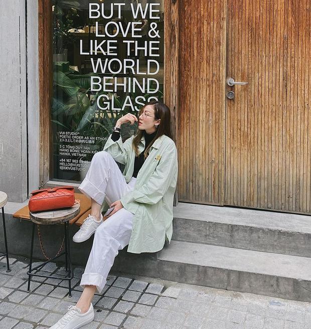 Instagram look của sao Việt: Chi Pu, Mẫn Tiên lên đồ ấm áp vẫn không bằng Hà Tăng quẩy outfit cho ngày đại hàn - Ảnh 3.