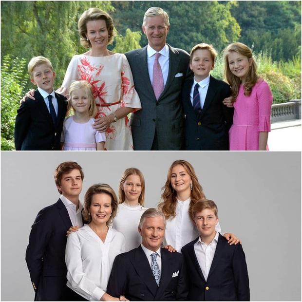 Công chúa xinh đẹp nhất hoàng gia Bỉ tung ảnh gia đình ngày ấy - bây giờ khiến nhiều người phải thốt lên kinh ngạc vì quá hoàn mỹ - Ảnh 1.