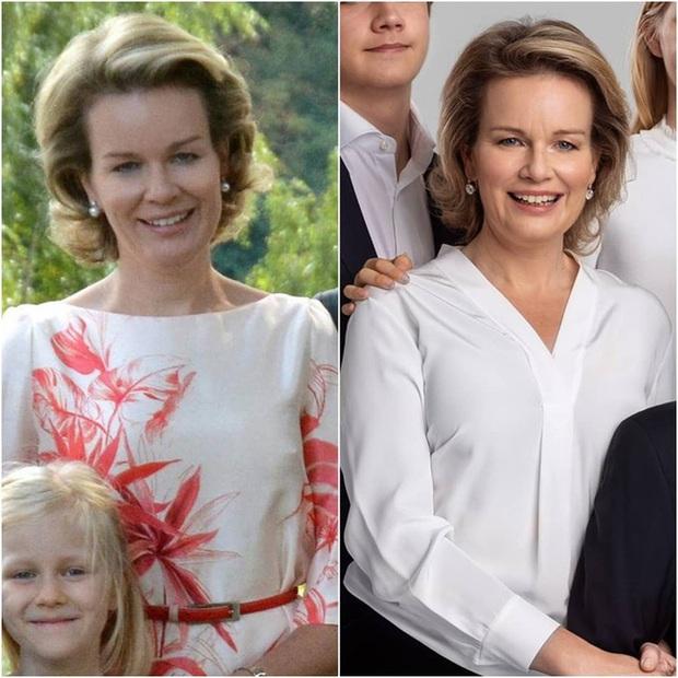 Công chúa xinh đẹp nhất hoàng gia Bỉ tung ảnh gia đình ngày ấy - bây giờ khiến nhiều người phải thốt lên kinh ngạc vì quá hoàn mỹ - Ảnh 4.