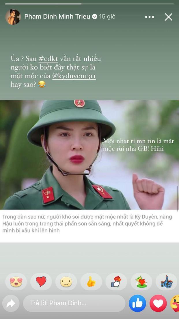Minh Triệu bóc trần sự thật về mặt mộc của Kỳ Duyên ở Sao Nhập Ngũ - Ảnh 4.