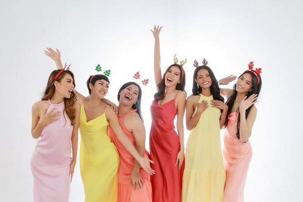 Team Minh Tú khoe ảnh Giáng sinh vừa rộn ràng vừa cực quyến rũ - Ảnh 2.