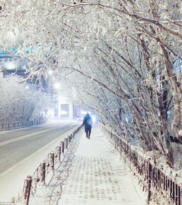 Bức ảnh cá cứng đơ xếp từng chồng bày bán ở chợ gây ngạc nhiên tột độ và sự thật về thành phố lạnh nhất thế giới, đóng băng cả lông mi và tóc - Ảnh 11.