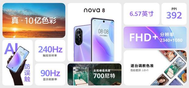 Huawei Nova 8 và Nova 8 Pro ra mắt: Kirin 985 5G, màn hình 120Hz 10-bit màu, camera 64MP, sạc nhanh 66W, giá từ 11.6 triệu đồng - Ảnh 16.