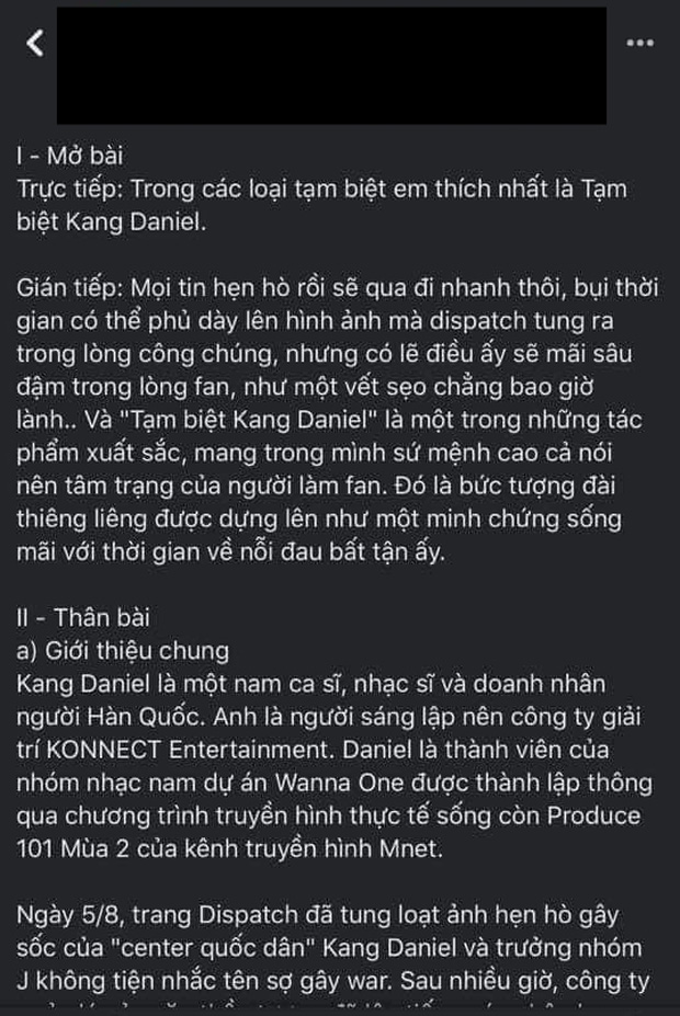 Kang Daniel mới là nhân vật hot nhất MXH mùa Noel năm nay, ai cũng đòi cất poster theo bài văn mẫu đọc cười đến nội thương - Ảnh 3.