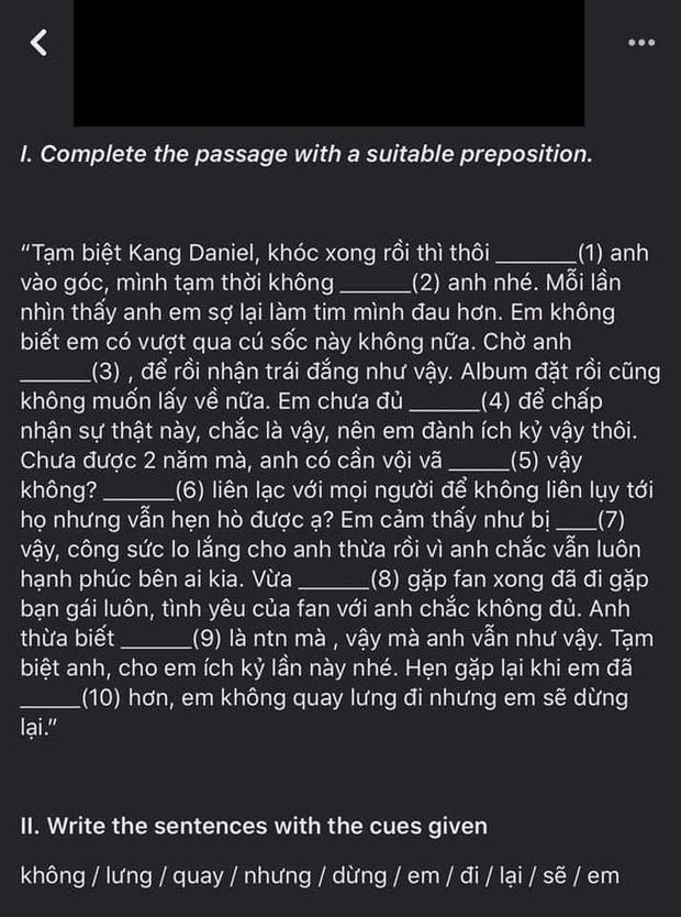 Kang Daniel mới là nhân vật hot nhất MXH mùa Noel năm nay, ai cũng đòi cất poster theo bài văn mẫu đọc cười đến nội thương - Ảnh 11.