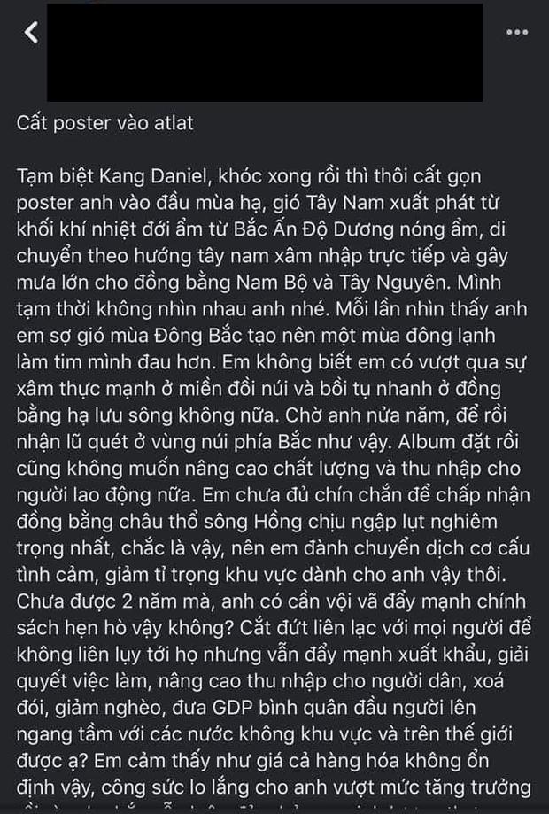 Kang Daniel mới là nhân vật hot nhất MXH mùa Noel năm nay, ai cũng đòi cất poster theo bài văn mẫu đọc cười đến nội thương - Ảnh 16.