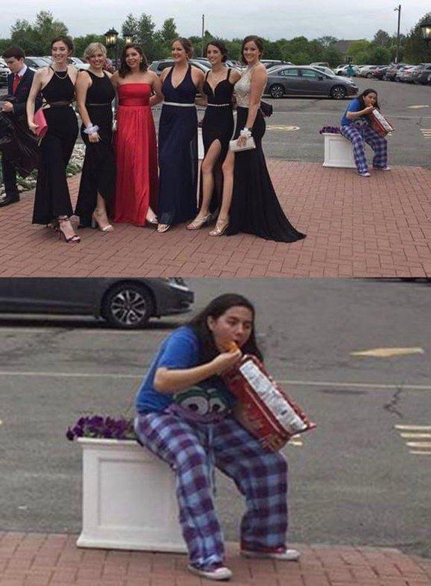 Những bức ảnh hài hước chứng minh luôn có 2 kiểu con gái cực trái ngược nhau, xem để biết bạn thuộc tuýp phụ nữ nào nhé - Ảnh 1.