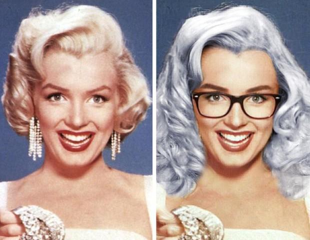 Bất ngờ với loạt hình ảnh khi các tượng đài nhan sắc trong quá khứ được làm tóc, make-up theo phong cách hiện đại, đẹp lại càng thêm đẹp - Ảnh 10.