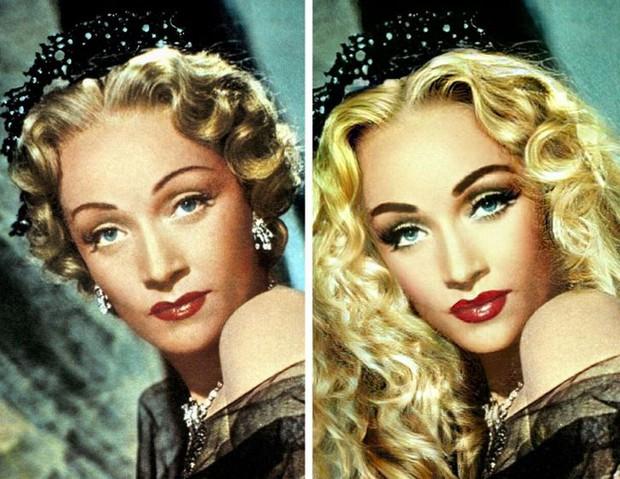 Bất ngờ với loạt hình ảnh khi các tượng đài nhan sắc trong quá khứ được làm tóc, make-up theo phong cách hiện đại, đẹp lại càng thêm đẹp - Ảnh 15.