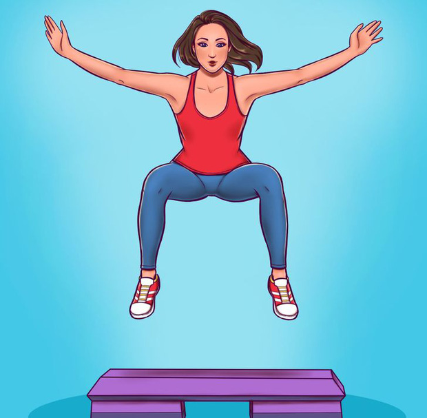 7 bài tập mang đến hiệu quả đốt cháy chất béo nhiều hơn là chạy bộ, hội đang giảm cân nên thử ngay - Ảnh 5.