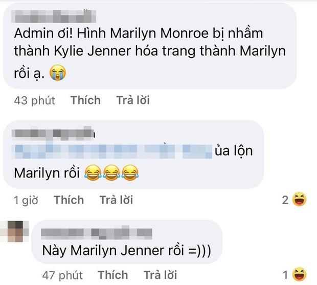 Gương Mặt Thân Quen tiếp tục mắc lỗi về nhân vật: Nhầm Marilyn Monroe thành Kylie Jenner - Ảnh 2.