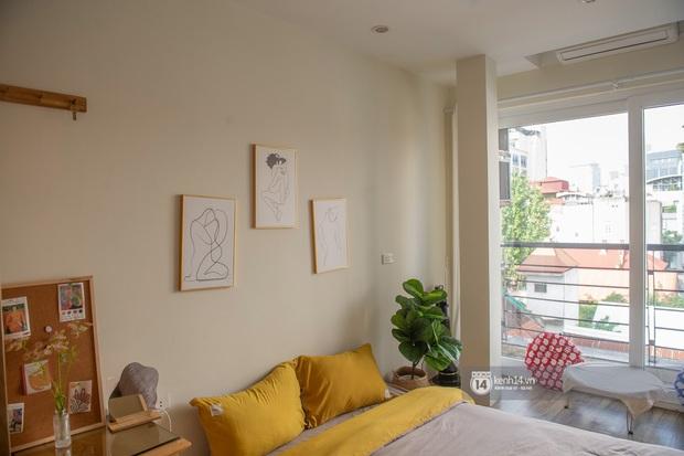 Review nhà thuê ở Đống Đa, Hà Nội: Phòng rộng 15m2 nhưng tiện ích không thiếu thứ gì, lại được decor xinh hết sức - Ảnh 4.