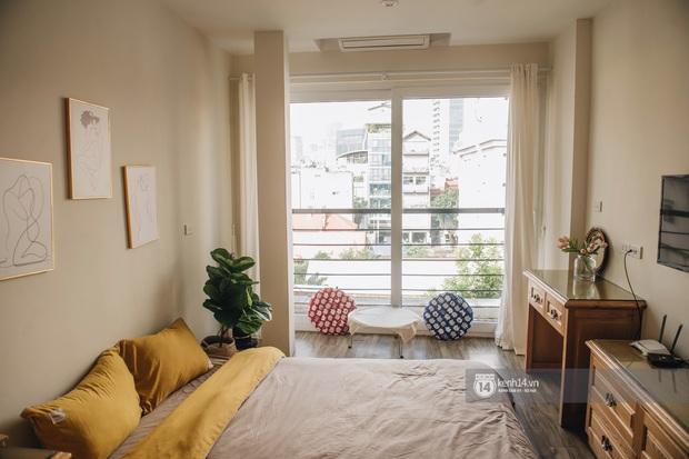 Review nhà thuê ở Đống Đa, Hà Nội: Phòng rộng 15m2 nhưng tiện ích không thiếu thứ gì, lại được decor xinh hết sức - Ảnh 2.