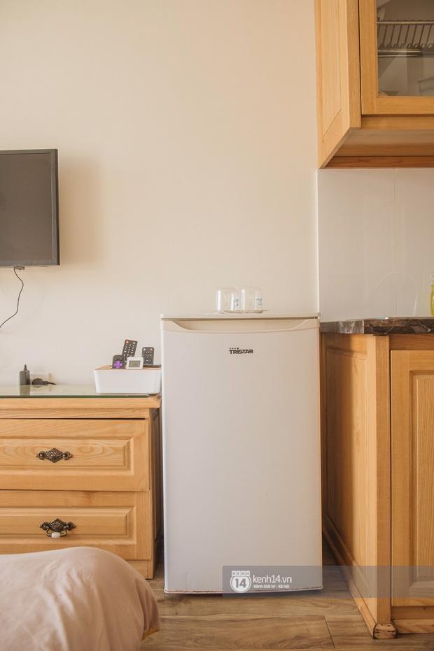 Review nhà thuê ở Đống Đa, Hà Nội: Phòng rộng 15m2 nhưng tiện ích không thiếu thứ gì, lại được decor xinh hết sức - Ảnh 7.