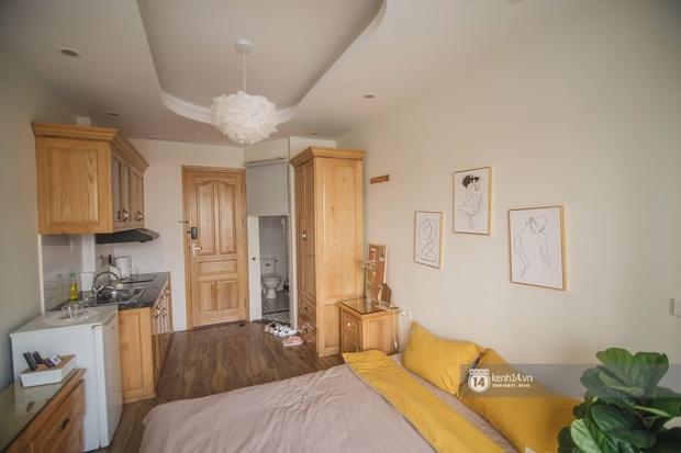 Review nhà thuê ở Đống Đa, Hà Nội: Phòng rộng 15m2 nhưng tiện ích không thiếu thứ gì, lại được decor xinh hết sức - Ảnh 3.