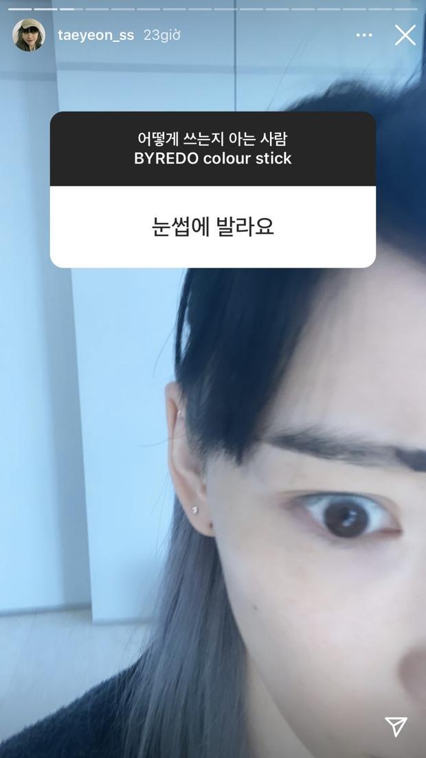 """Mua son đen mà không biết cách dùng, Taeyeon nhờ fan tư vấn và loạt cái kết """"đi vào lòng đất"""" - Ảnh 4."""