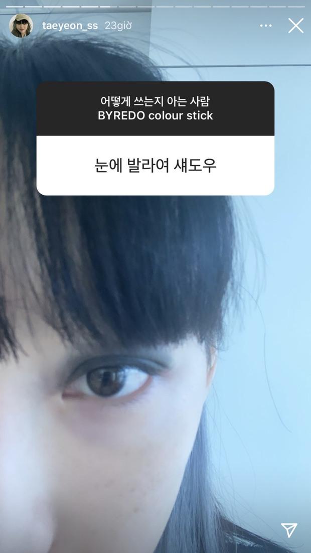 """Mua son đen mà không biết cách dùng, Taeyeon nhờ fan tư vấn và loạt cái kết """"đi vào lòng đất"""" - Ảnh 5."""