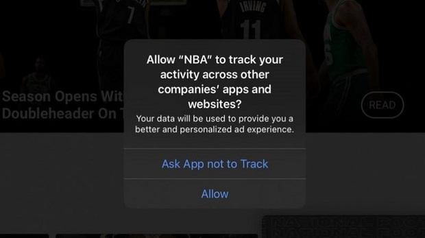 iPhone bắt đầu hỏi ý kiến việc theo dõi của các app, trong đó có Facebook - Ảnh 1.