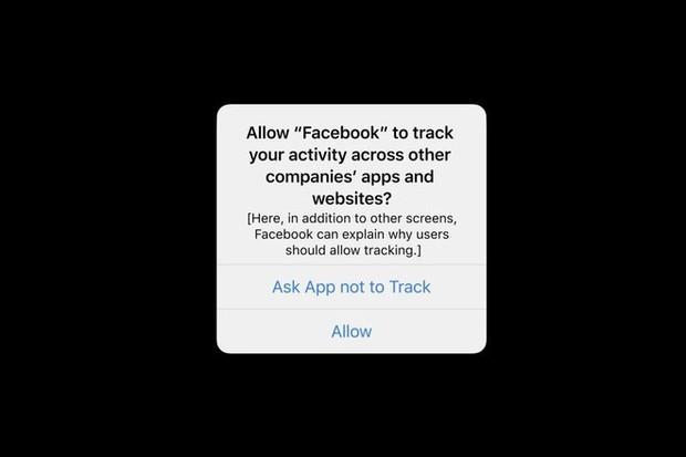 iPhone bắt đầu hỏi ý kiến việc theo dõi của các app, trong đó có Facebook - Ảnh 2.