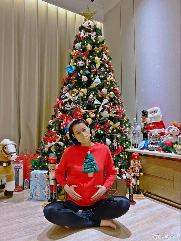 Hồ Hạnh Nhi lên thẳng top 1 Weibo khi bất ngờ tuyên bố mang thai lần 3 ở tuổi 41 cho chồng đại gia - Ảnh 2.