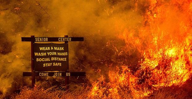 Cháy rừng hoành hành tại California, hàng nghìn người phải sơ tán - Ảnh 1.