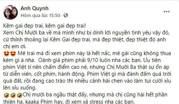 Netizen chia phe khen nhiều hơn chê Chị Mười Ba: Nội dung chất lượng, bi hài đều đủ nhưng Châu Bùi hơi đơ nha! - Ảnh 4.