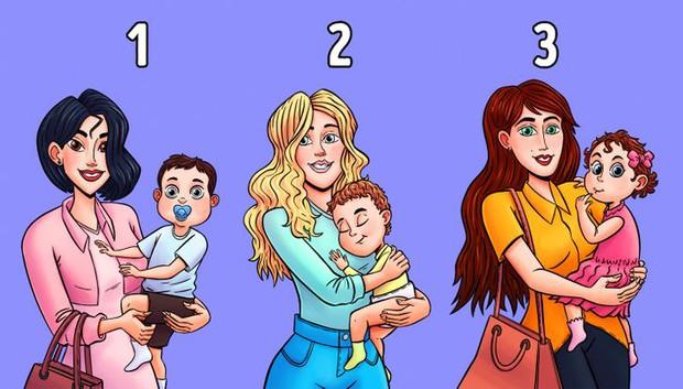 Quiz: Ai là người đang bế con của người khác? - Ảnh 1.