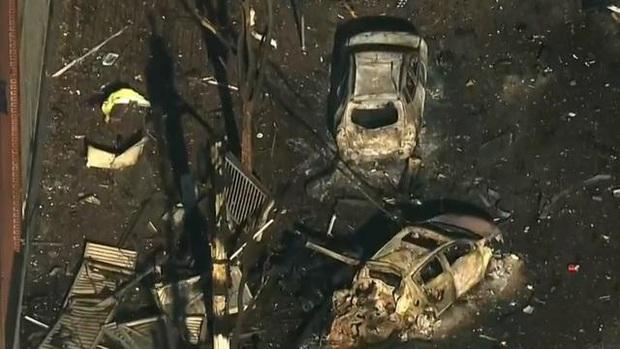 Khung cảnh tan hoang đến rợn người ở hiện trường vụ nổ Nashville - Ảnh 6.