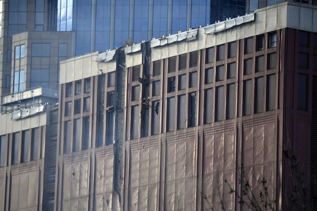 Khung cảnh tan hoang đến rợn người ở hiện trường vụ nổ Nashville - Ảnh 10.