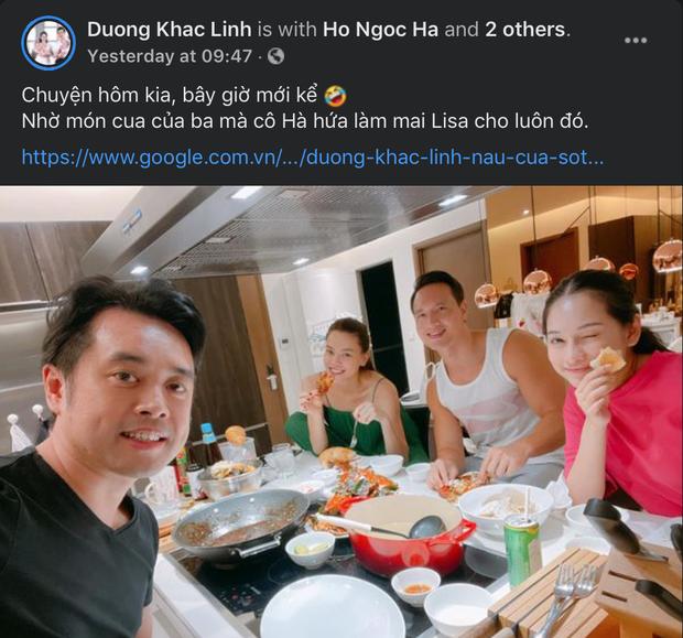 Dương Khắc Linh khoe chuyện Hà Hồ hứa gả Lisa cho con trai mình, chẳng ngờ bị chính chủ bóc mẽ ngay tại trận - Ảnh 2.