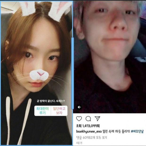 7 tháng trước tin hẹn hò Ravi, Taeyeon lộ loạt bằng chứng nối lại tình xưa với Baekhyun (EXO) - Ảnh 5.