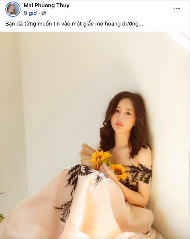Mai Phương Thuý đăng status tâm trạng, nhắc về chuyện chờ đợi ai kia giữa lúc Noo Phước Thịnh tuyên bố quan hệ của cả hai  - Ảnh 2.