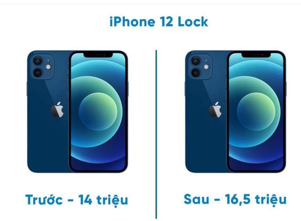 iPhone 12 lock tăng giá đột biến sau khi nhiều cách hô biến iPhone lock thành quốc tế được chia sẻ rộng rãi - Ảnh 1.